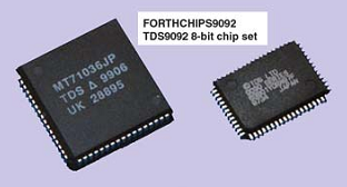 Рис. 2. Набор микросхем TDS9092 FORTH CHIPS