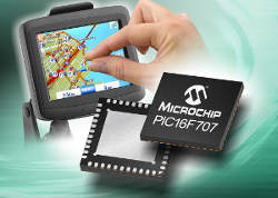 Microchip Technology расширяет возможности технологии mTouch