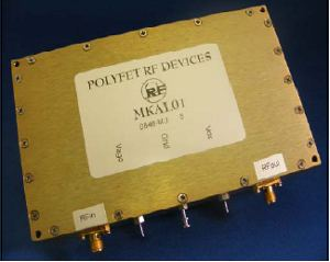 ����� ��������� �������� �������� Polyfet RF Devices