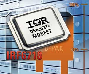 Large Can DirectFET MOSFET IRF6718