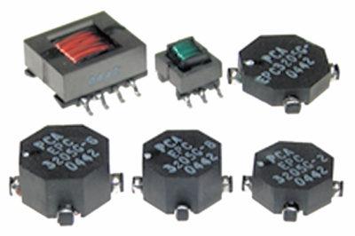 Внешний вид трансформаторов серии EPC3205G-x-LF