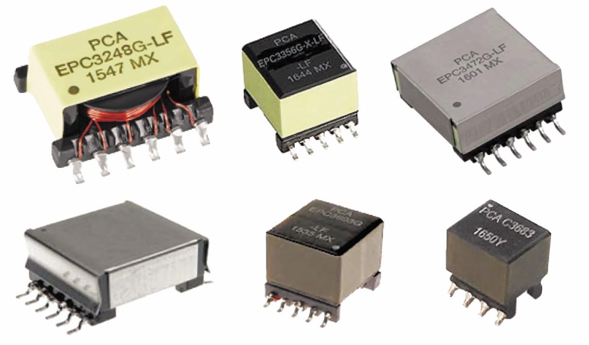Внешний вид популярных PoE-трансформаторов компании PCA Electronics