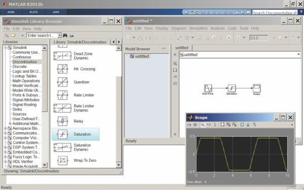 Подготовка и пуск простой диаграммы из трех блоков