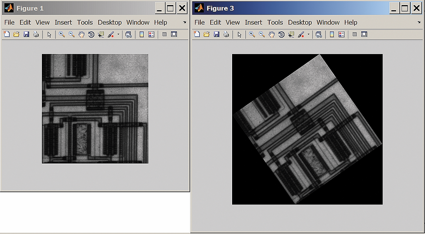Рис. 12. Преобразование изображения: а) изменение размеров; б) поворот