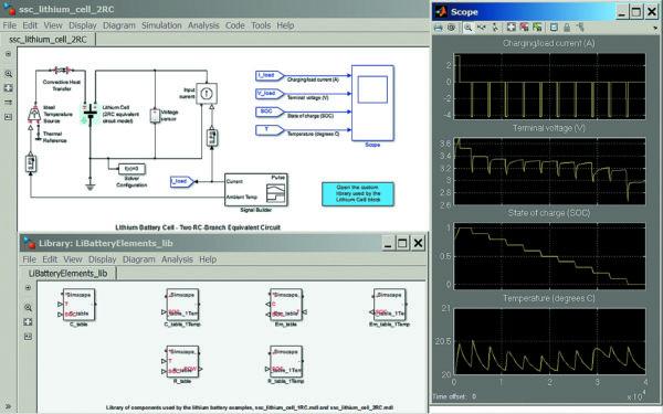 Управление зарядом/разрядом литиевой аккумуляторной батареи