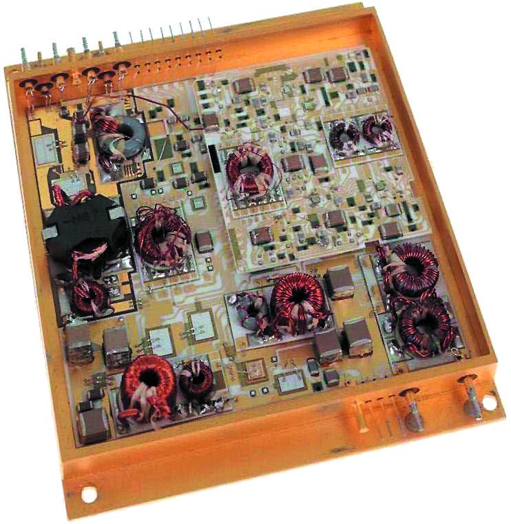 Модуль электропитания, изготовленный по гибридной технологии