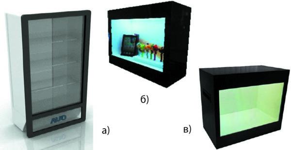 Примеры электронных витрин