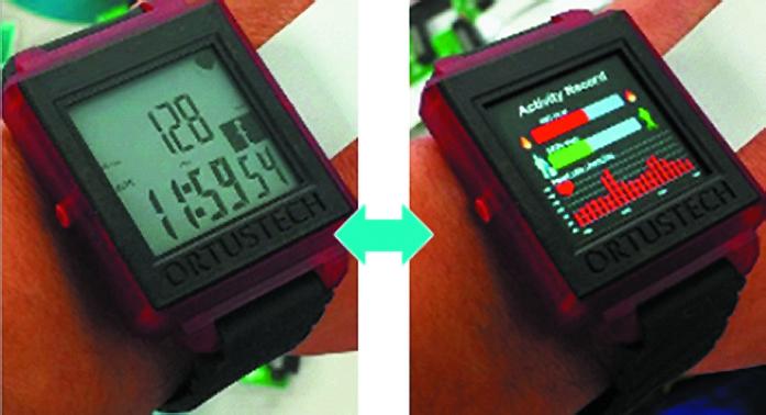 Гибрид монохромного сегментного PDLC-индикатора и полноцветного активноматричного (TFT или OLED)