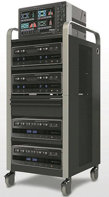 Многоканальная осциллографическая система набазе блоков LabMaster 10Zi