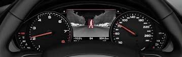 «Ассистент» ночного видения Audi с подсветкой пешеходов