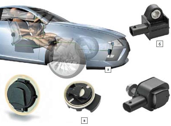 Концепция сателлитов— датчиков систем пассивной безопасности от Continental