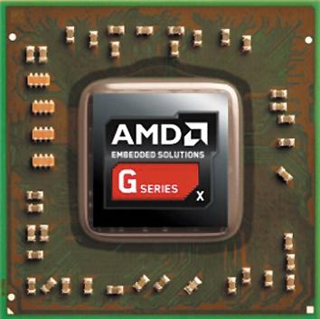 Система G‐Series SOC компании AMD содержит на одном кристалле ЦПУ, графический процессор и контроллер ввода/вывода