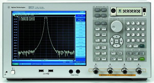 Векторный анализатор E5071C серии ENA компании Agilent Technologies