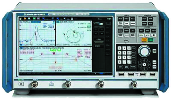 Векторный анализатор цепей серии ZNB фирмы Rohde & Schwarz