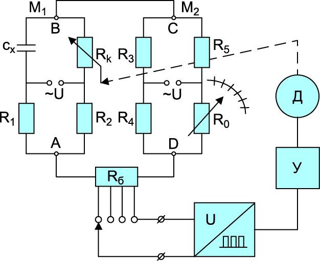 Схема преобразования малой измеряемой величины х