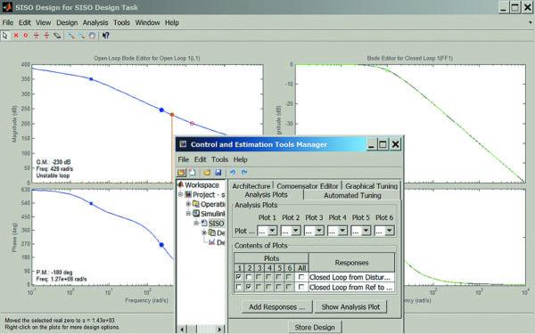 Интерактивные средства проектирования и настройки компенсаторов