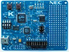 Плата с микроконтроллером