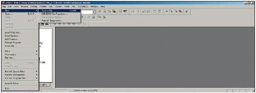 Рис. 9. Создание файлов с исходным кодом