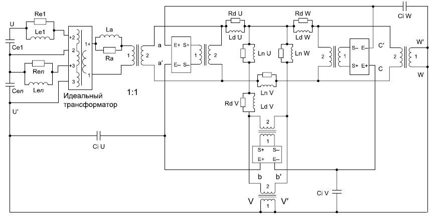 Полная электрическая схема