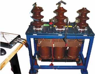 Распределительный трансформатор на 25 кВ-А типа YNyn 16,125 кВ/420 В