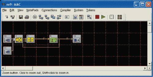 HDL Design Studio. Окно метасистемы