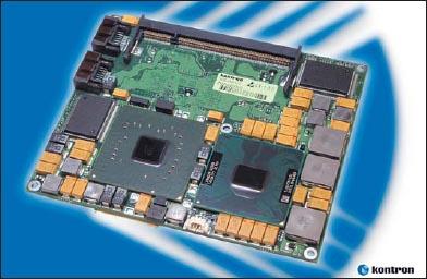 Примером современного продукта стандарта ETX 3.0 может служить модуль Kontron ETX-CD. Изделие выполнено на двуядерном процессоре Intel Core2 Duo (тактовая частота составляет 1,5 ГГц), может иметь до 2 Гбайт памяти, оснащено четырьмя портами USB 2.0, всеми необходимыми PC-интерфейсами и двумя портами Serial ATA