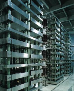 Рис. 3. Тиристорная вставка постоянного тока между энергосистемами (напряжение 250 кВ, мощность 300 МВт)