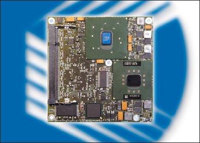 Модуль microETXexpress-PM с системным интерфейсом PCI Express и 1,4-гигагерцовым процессором Intel Pentium M. В наличии ОЗУ объемом до 1 Гбайт, шесть портов USB 2.0 и другие необходимые порты и интерфейсы