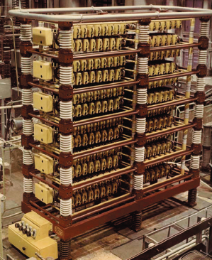 Рис. 4. Тиристорный блок для ЛЭП ПТ Экибастуз–Центр (6000 МВт, 1,5 МВ, 2500 км). Рабочее напряжение 235 кВ, ток 800 А