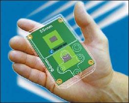 Сверхминиатюрный COM-модуль nanoETXexpress с системной шиной PCI Express, имеющий размеры 55×84 мм