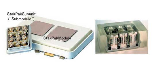 Рис. 8. Модуль IGBT Press-Pack 1200 A, 2500 В (236x150x26 мм)