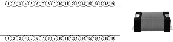 Рис. 14. Однослойная намотка