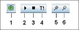 Основные элементы управления инструментальной панели