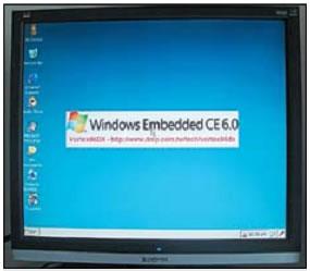 Внешний вид графической оболочки Windows CE