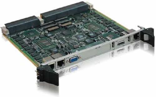 Высокопроизводительная плата Kontron VX6060, реализованная в конструктиве VPX 6U