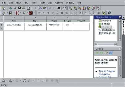 Создание параметра настройки в редакторе символа