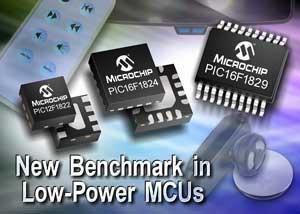 Усовершенствованные 8-, 14- и 20-выводные микроконтроллеры от Microchip