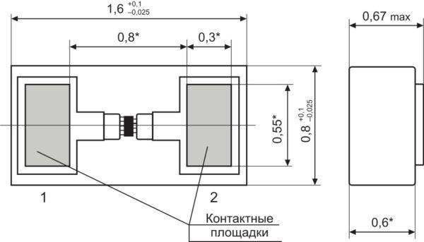Конструкция тонкопленочного вариконда