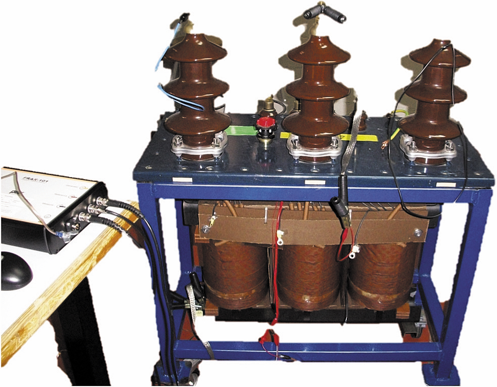 Распределительный трансформатор на 25 кВ·А типа YNyn 16,125 кВ/420 В