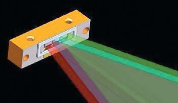 Рис. 2. Модуль излучателя Luminus обеспечивает яркость до 8500 кд/м