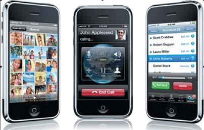 Рис. 4. Смартфон iPhone фирмы Apple