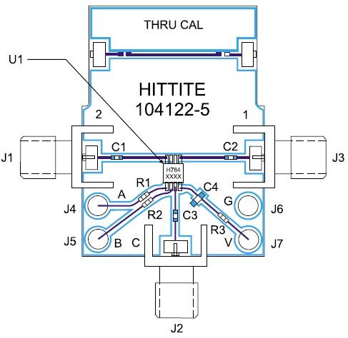 Монтаж микросхемы HMC784MS8GE на печатную плату