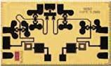 Вид бескорпусной микросхемы HMC971