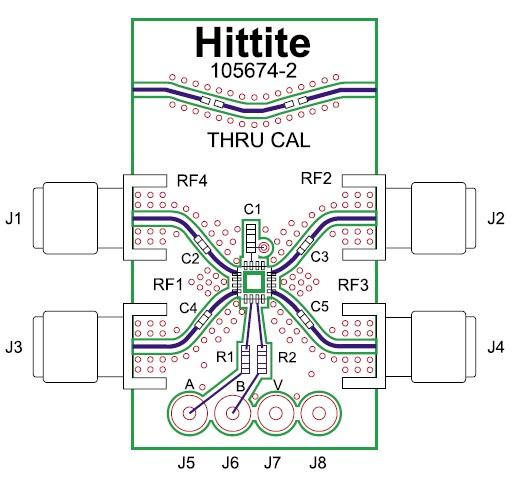 Монтаж микросхемы коммутатора H427 на печатную плату