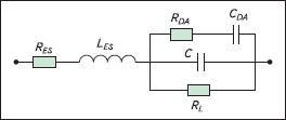 Эквивалентная схема реального конденсатора