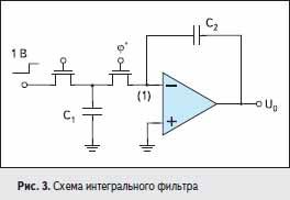 Схема интегрального фильтра