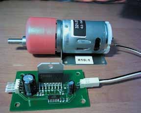Плата управления коллекторным двигателем набазе ИМСLMD18245T