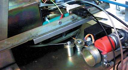 Механизм всборе: накольцевидной платформе установлена полезная нагрузка