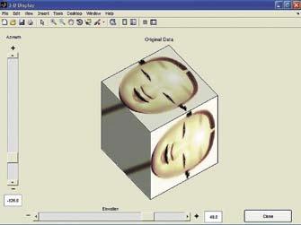 Восстановление проекций трехмерной фигуры— маски