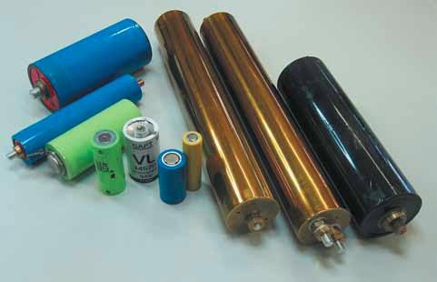 Цилиндрические Li-ion аккумуляторы